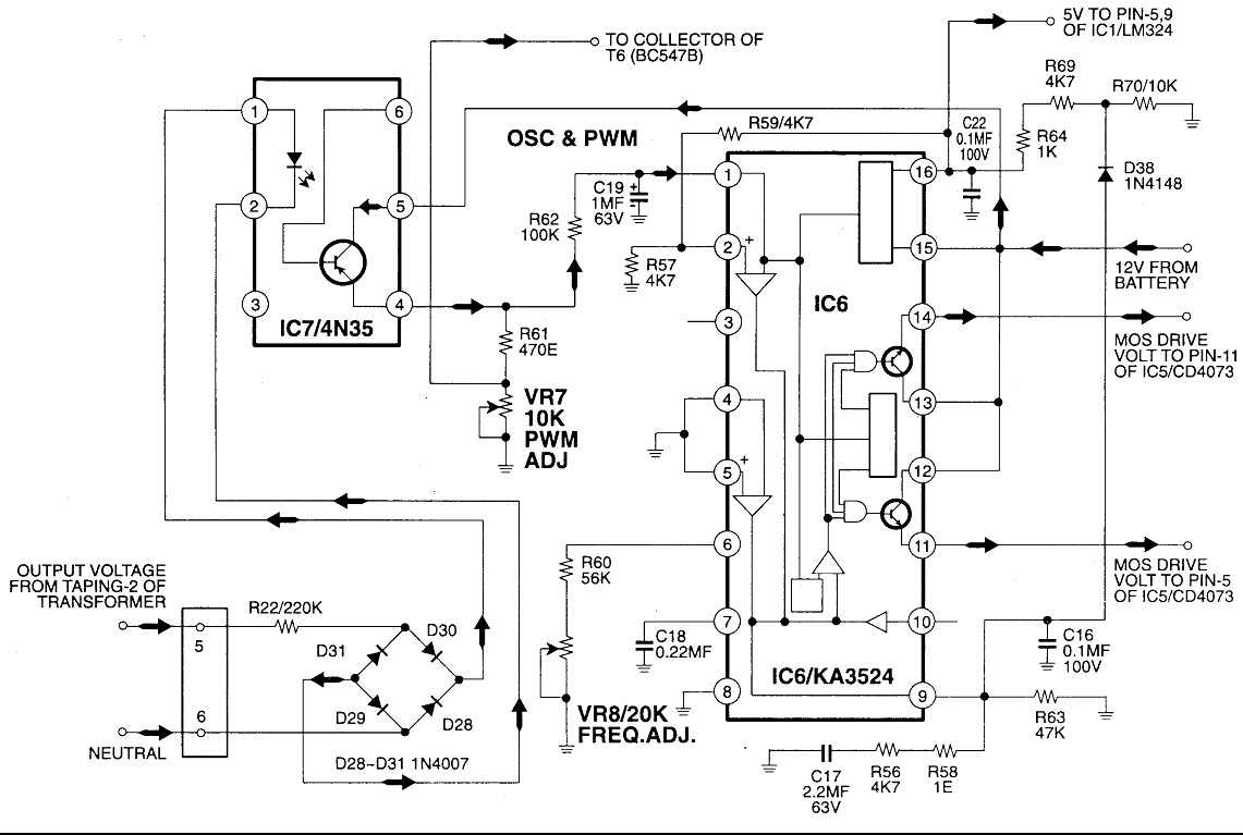 circuit diagram as well power inverter circuit as well 1000w power