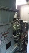九重観光ホテル地熱発電施設 機械室