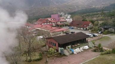 九重観光ホテル 全景