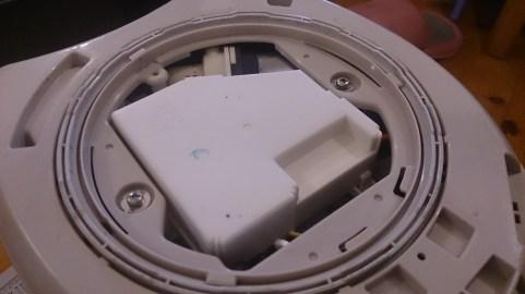 象印VE電気まほうびん 優湯生 CV-PT30 制御基盤 底面ふた開封後