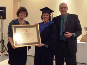 Our grad, Diane Filliion