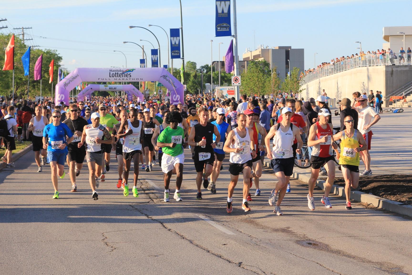 Manitoba Marathon  Online Registration for the 2015 Manitoba Marathon is open