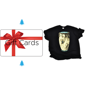 Shirts and Gift Cards