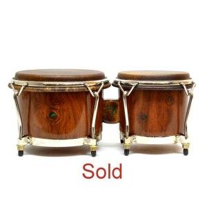 black walnut bongos