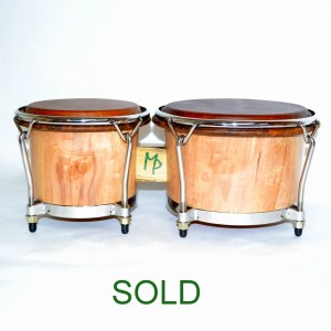 Figured Birch Bongos 2