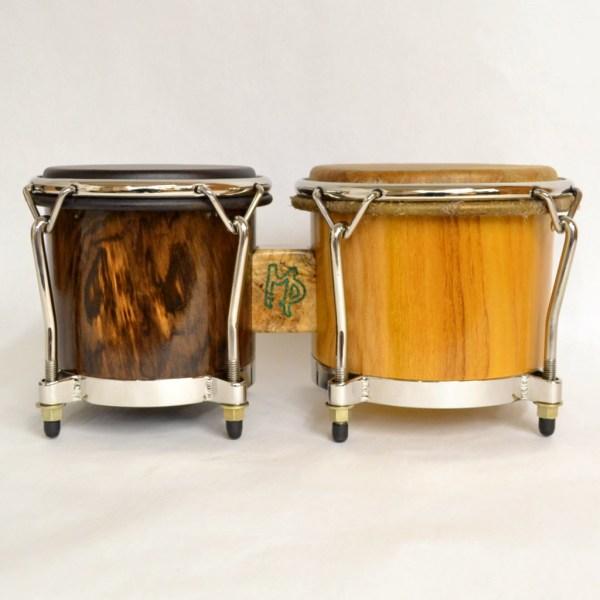walnut and osage orange bongos