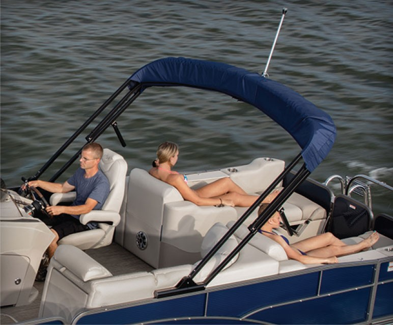 2018 Manitou Aurora Angler LE Pontoon Boat  Options