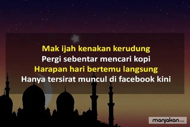Pantun Lebaran Post Sosial Media