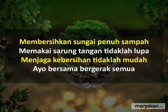 Pantun Lingkungan Bersih