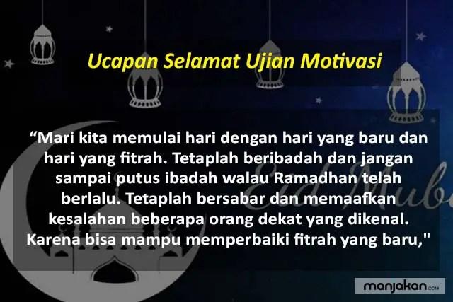 Ucapan Idul Fitri Islami