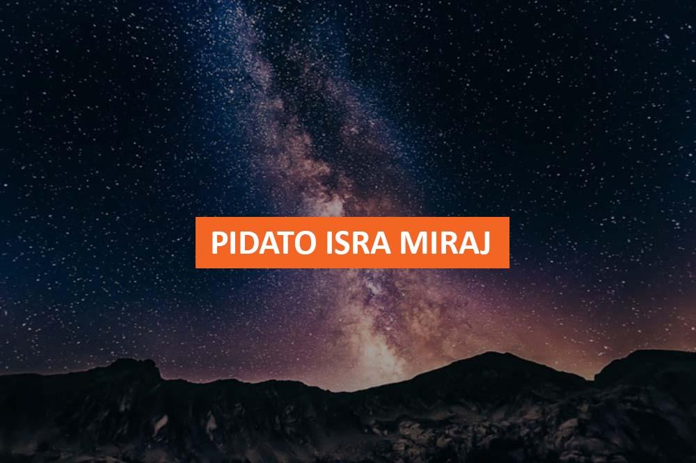 PIDATO ISRA MIRAJ