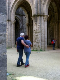 In San Galgano Abbey