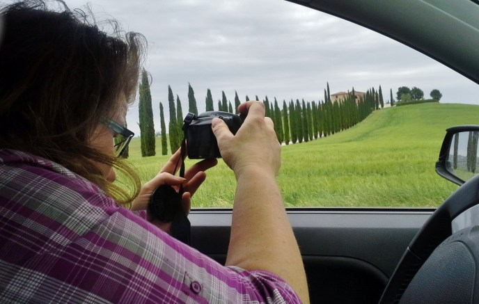 In Val d'Orcia