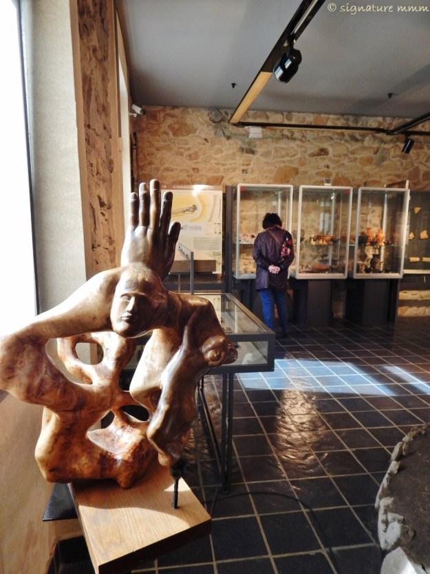Niki de Saint Phalle has a not very unlike statue in her Giardino dei tarocchi.
