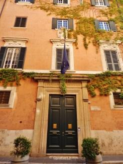 French Consulate on Via Giulia