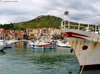 A red star in Porto Ercole.