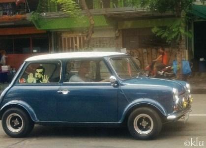 Eeee! Mr. Bean on the streets of BKK.