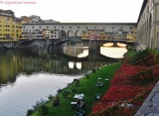 Florence: The bridge.