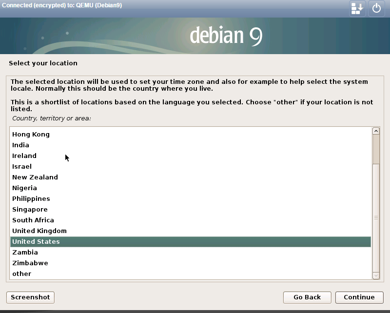 install debian 9.0 select location.png
