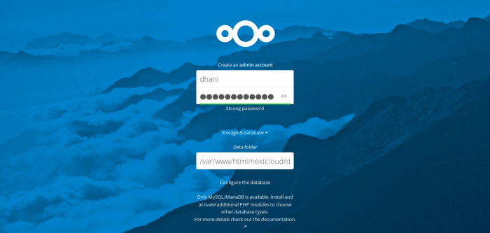 install nextcloud 12.0 on debian 9
