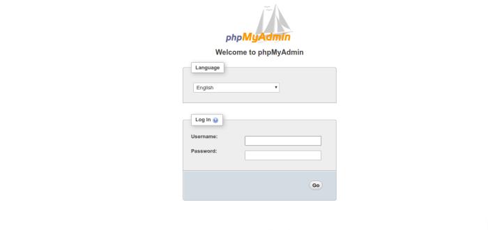 install PHPMyAdmin on CentOS 7.3