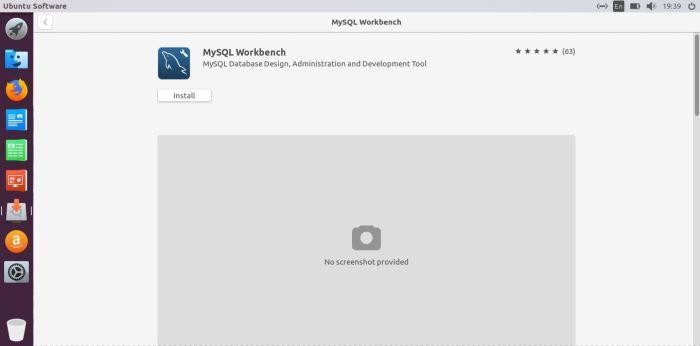 install mysql workbench on ubuntu