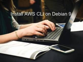 install aws cli on debian 9
