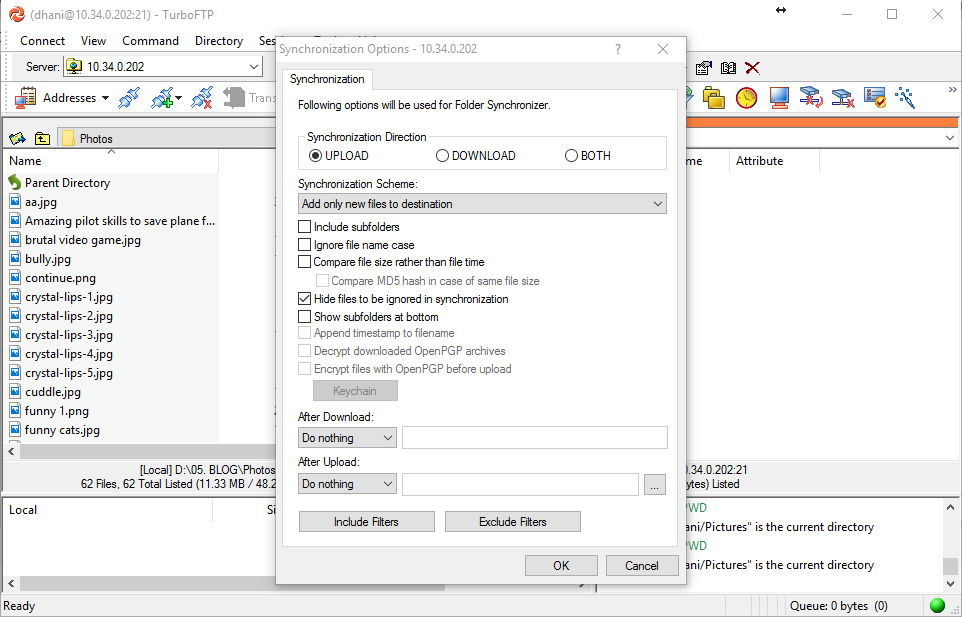 How to Sync Folders using TurboFTP Client 6 80 Full Version