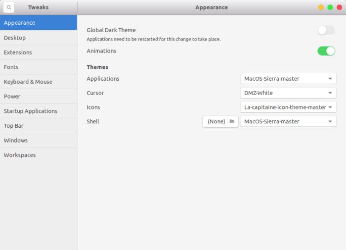 the best themes for ubuntu 17 10 artful aardvark