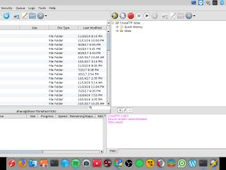 install crossftp on debian