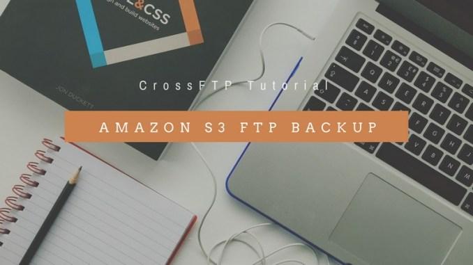 perform amazon s3 ftp backup