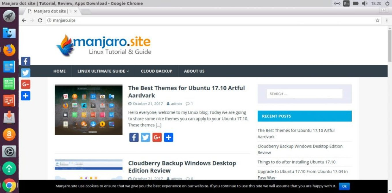 install google chrome on ubuntu 17.10