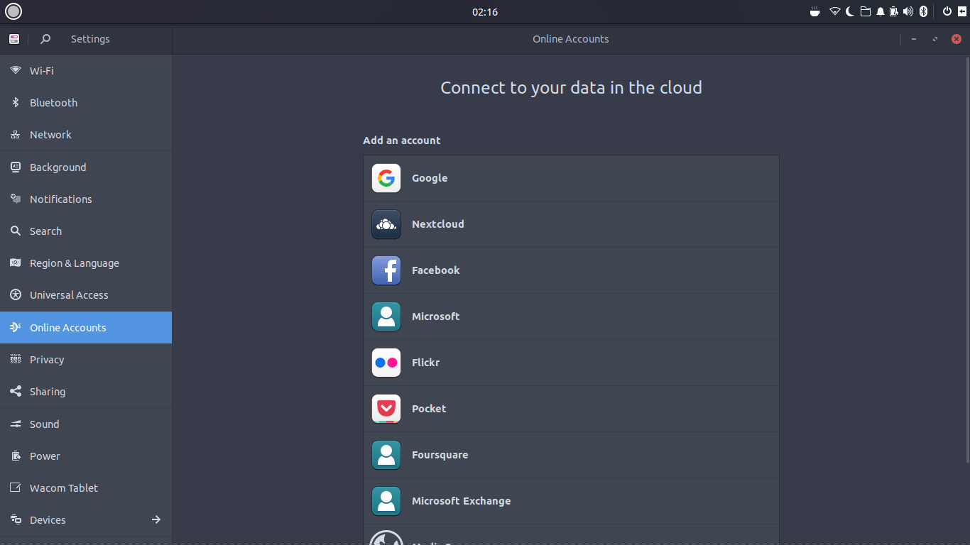ubuntu budgie 17.10 screenshot