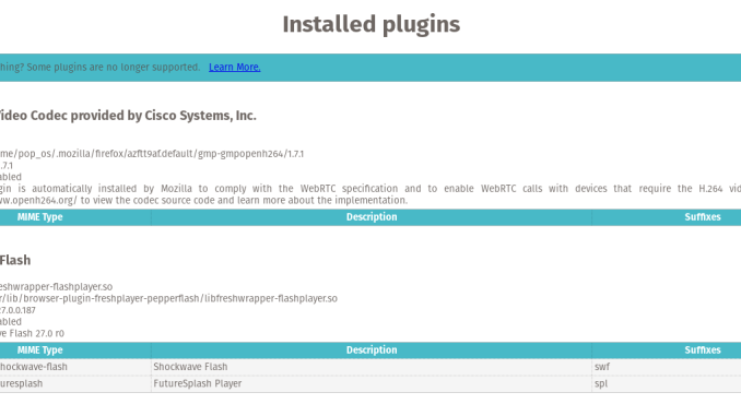 Install Pepper Flash Plugin on Pop OS | Manjaro dot site