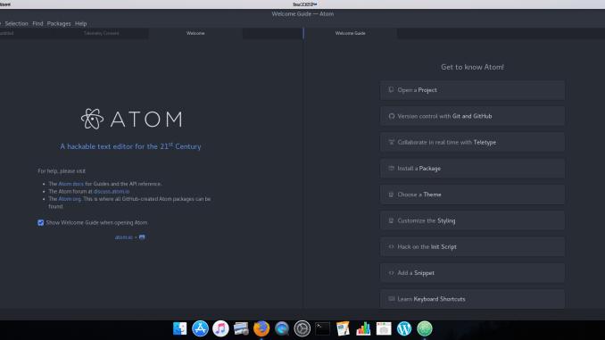 Install Atom Text Editor on Debian 9 | Manjaro dot site