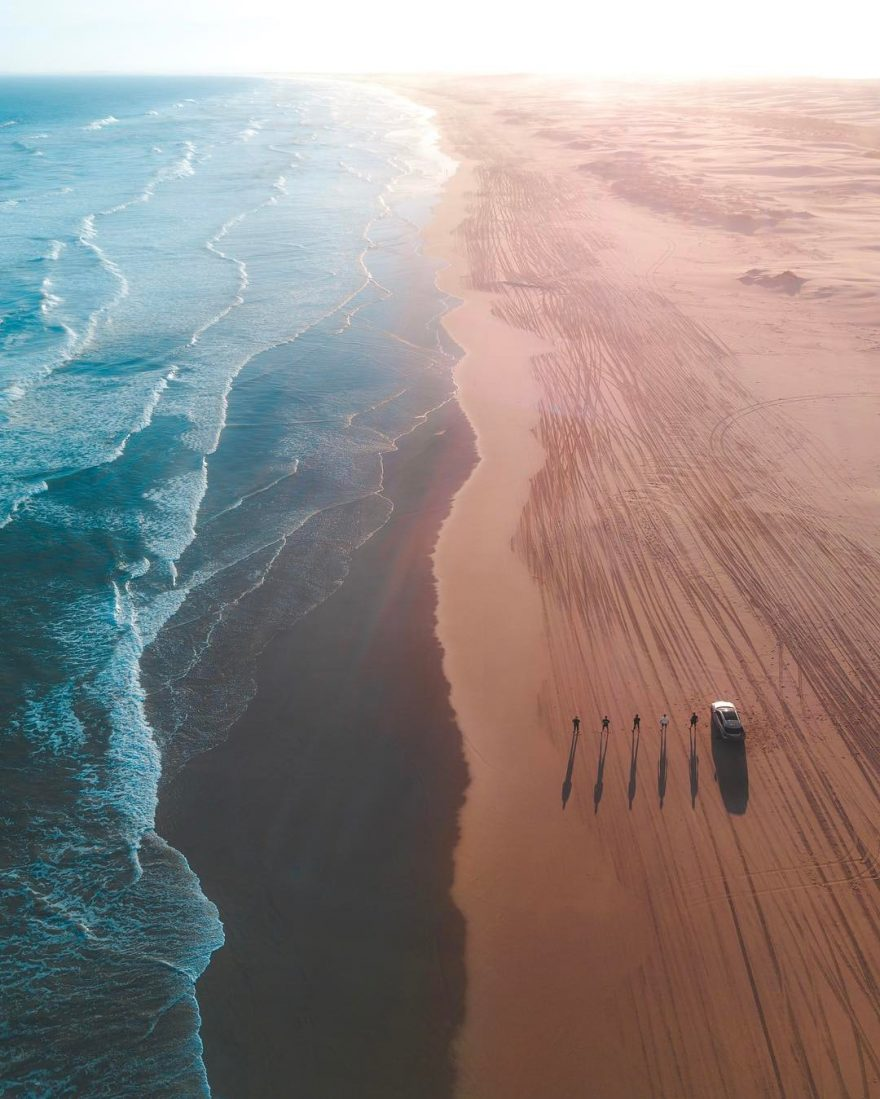beach photography by drone 1