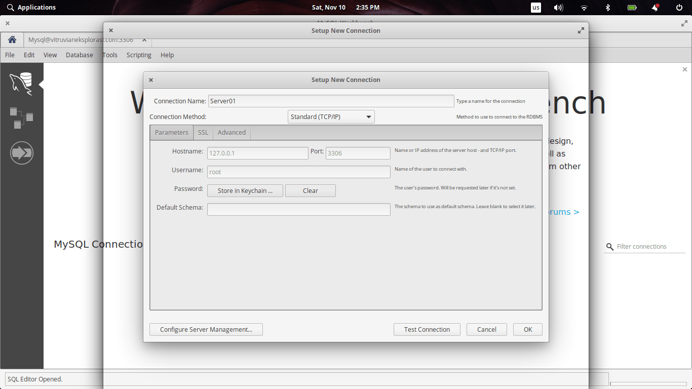 How to Install MySQL Workbench on Elementary OS Juno | Manjaro dot site