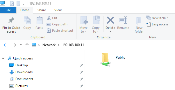 share public folder in linux mint