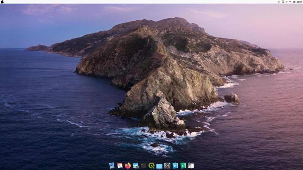Linux Mint Looks Like Mac OS X