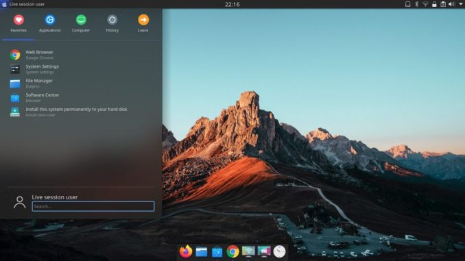 Kde Neon 5 17 The Best Windows 7 Replacement Manjaro Dot Site