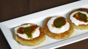 Aloo Tikki (Potato Patties) Recipe by Manjula