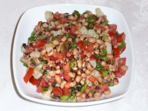 Black Eyed Peas Salad