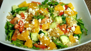 Quinoa Salad Recipe by Manjula