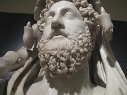 Hercules beard. Ancient history grooming