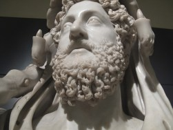 Hercules beard. Ancient history grooming