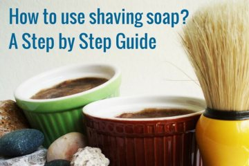 How to use shaving soap.