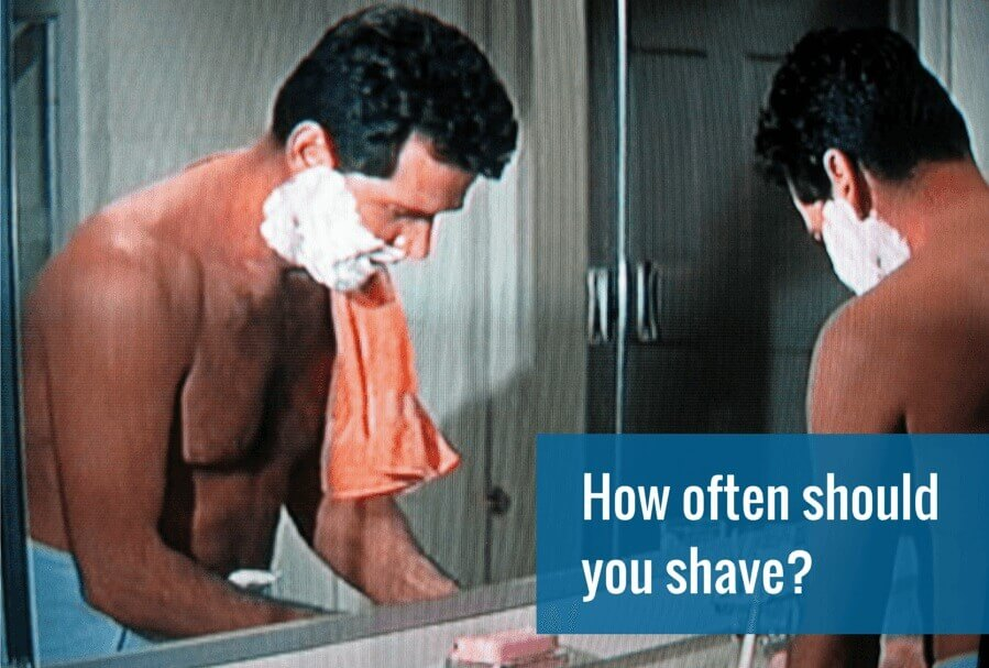 How often to shave chest