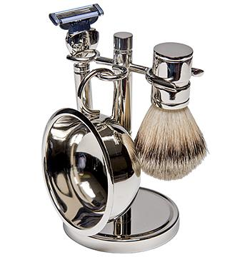 How to use shaving soap - lathering in bowl
