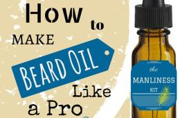 How to make beard oil? Quick & Easy Recipes