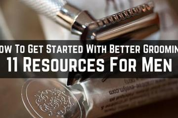 How to Get Started with Better Grooming. Safety razor and shaving cream